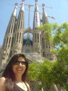 Iglesia la Sagrada Familia. Barcelona 2010