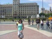 Plaza de Cataluña. Barcelona 2010