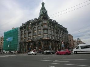 La famosa avenida Nevsky Prospekt.