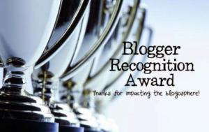 blogger regognition award