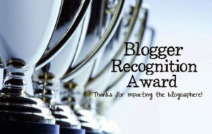blogger regognition award