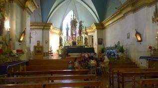 Iglesia Pueblo Pisco Elqui.
