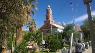 La iglesia de Monte Grande