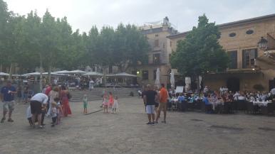 La Plaza. Pueblo Pollensa